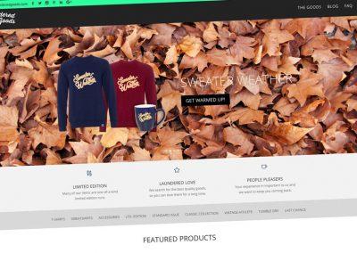 Laundered Goods Design & Apparel